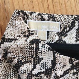 Michael Kors Snake print Pencil skirt